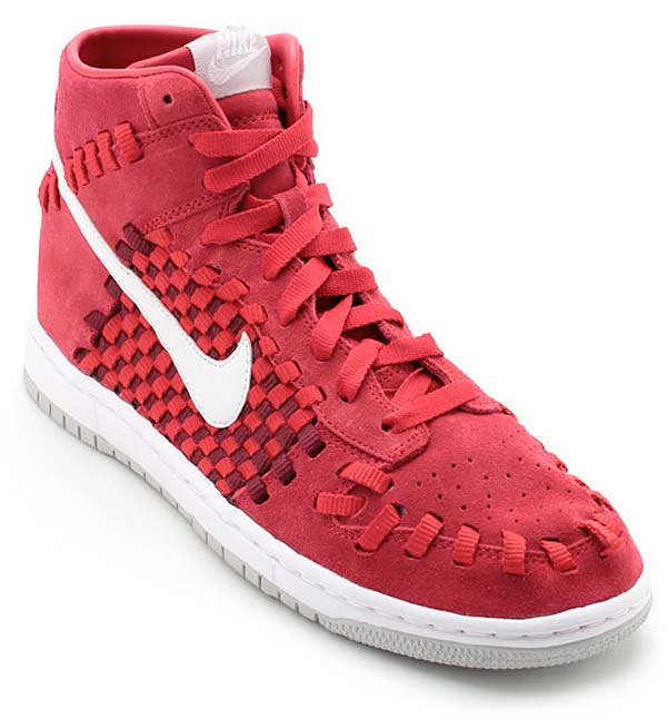 NIKE DUNK WOVEN [RED/WHITE] 555030-600