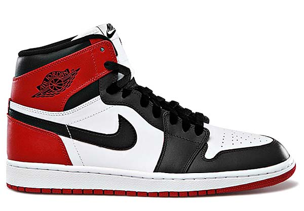 NIKE AIR JORDAN 1 RETRO HIGH OG [WHITE/BLACK-GYM RED] 555088-184