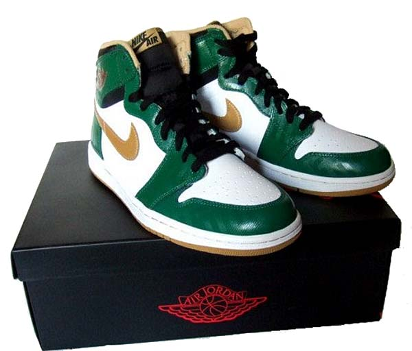 NIKE AIR JORDAN 1 RETRO HIGH OG [CLOVER/METALLIC GOLD-WHITE-BLK] 555088-315
