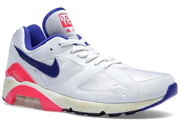 NIKE AIR MAX 180 OG [SAIL/ULTRA MARINE/SOLAR RED] 559604-146