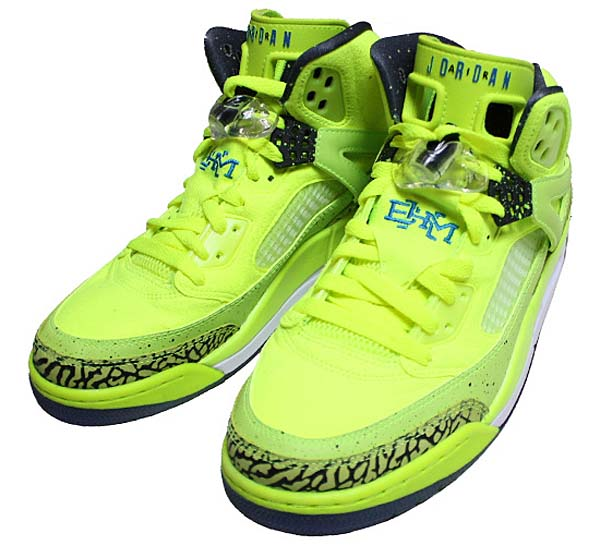 NIKE AIR JORDAN SPIZIKE BHM [VOLT/BLACK-PHOTO] 579593-712