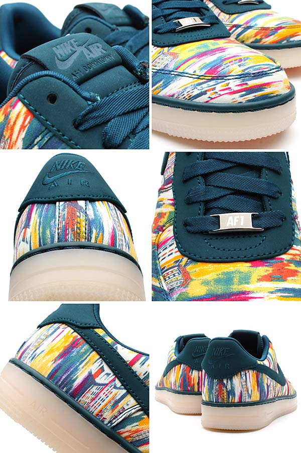 NIKE AF1 DOWNTOWN [MIDNIGHT TURQ/MIDNIGHT TURQ] 579962-300