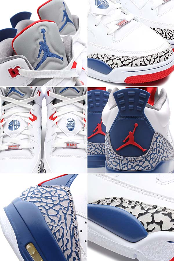 NIKE JORDAN SON OF LOW [WHITE/TRUE BLUE-FIRE RED-CEMENT GREY] 580603-106
