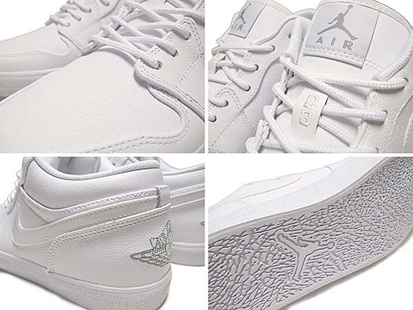 NIKE JORDAN V.2 LOW [WHITE/METALLIC SILVER] 584794-104