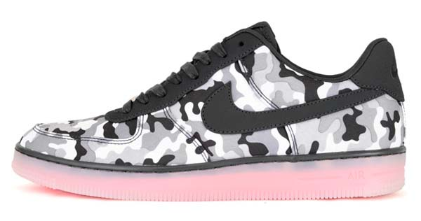 NIKE AF1 DOWNTOWN TXT QS [WHITE/ANTHRACITE-COOL GREY] 585715-100