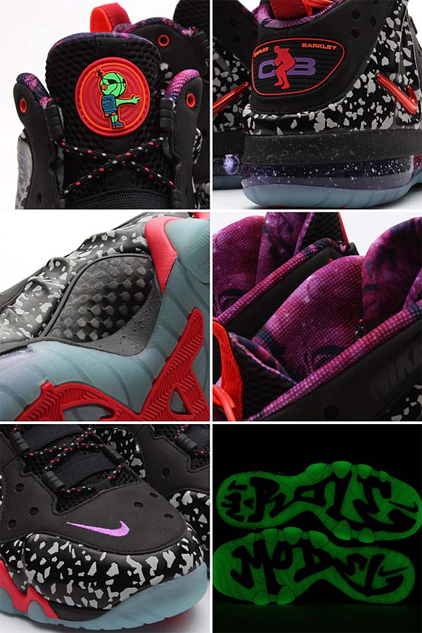 NIKE BARKLEY POSITE MAX PRM QS NBA ALLSTAR GAME [BLACK/SIREN RED]  588527-060