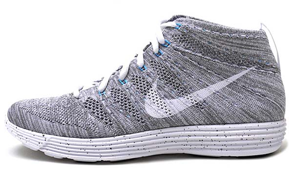 NIKE LUNAR FLYKNIT CHUKKA HTM SP [LIGHT CHARCOAL/WHITE-WHITE] 599347-011