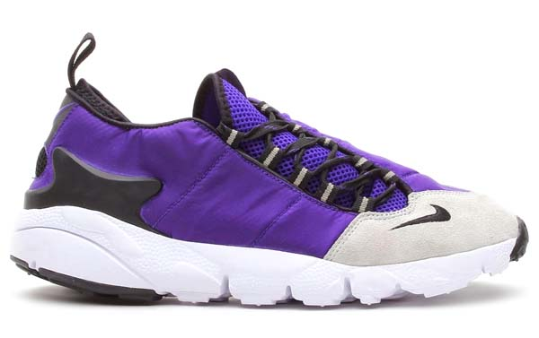 NIKE AIR FOOTSCAPE MOTION [COURT PURPLE/BLACK-PURE PLATINUM/WHITE] 599470-501