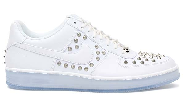 NIKE AIR FORCE 1 DOWNTOWN SPIKE [WHITE/WHITE] 599830-100