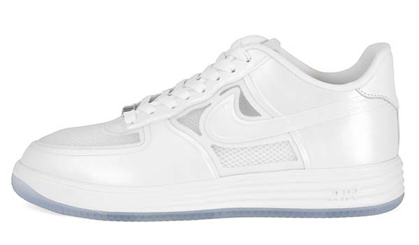 NIKE LUNAR FORCE 1 FUSE LOW [WHITE/WHITE] 6144491-100