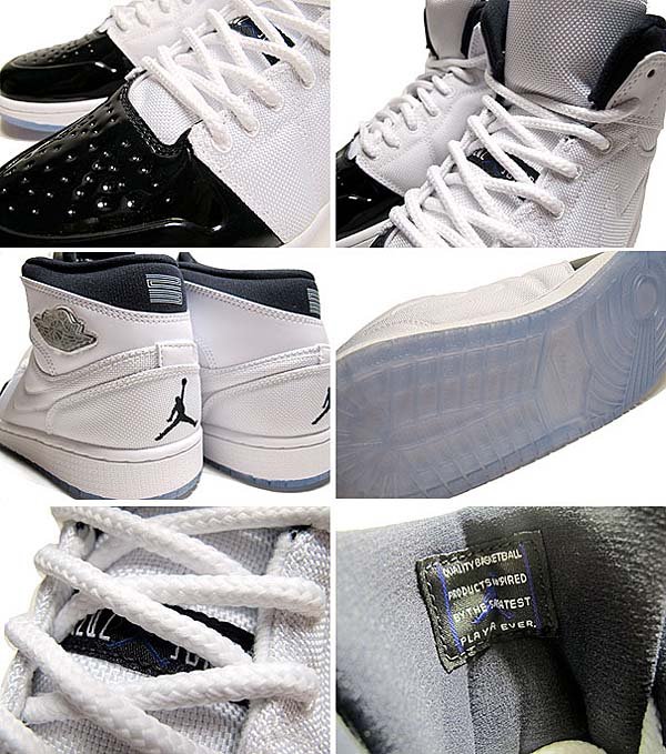 NIKE AIR JORDAN 1 RETRO 95 TXT [AIR JORDAN 11 CONCORD] 616369-195