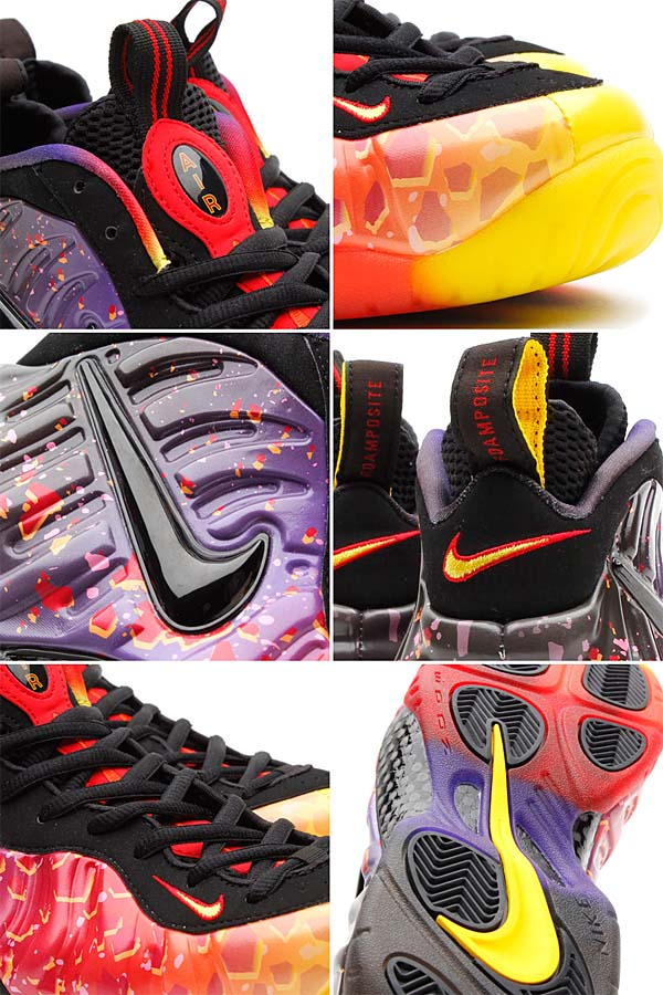 NIKE AIR FOAMPOSITE PRO PRM ASTEROID [FIRE/BLACK] 616750-600