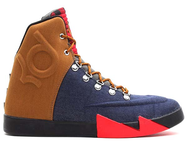 NIKE KD VI NSW LIFESTYLE QS [DENIM/ALE BROWN-UNIVERSITY RED] 621177-400