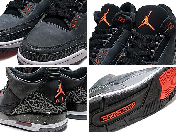 NIKE AIR JORDAN 3 RETRO FEAR [N.STADIUM/T.ORG-BLK-N.GRY] 626967-040