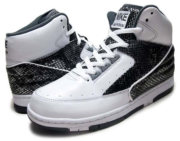 NIKE AIR PYTHON LUX SP [WHITE/WHITE-METALLIC SILVER] 632631-110