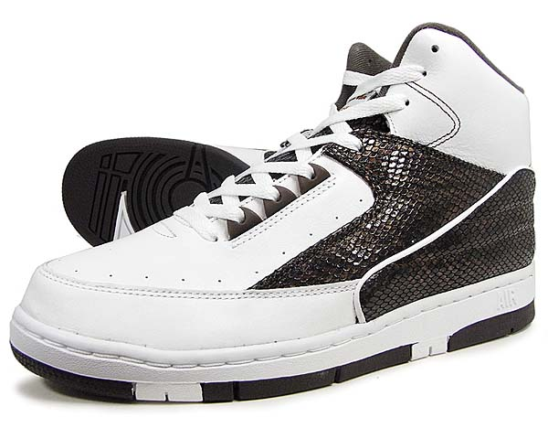 NIKE AIR PYTHON LUX SP [WHITE/WHITE-BAROQUE BROWN] 632631-112
