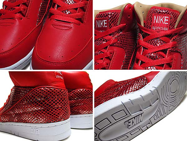 NIKE AIR PYTHON LUX SP [UNIVERSITY RED/UNVRSTY RED-WHITE] 632631-601