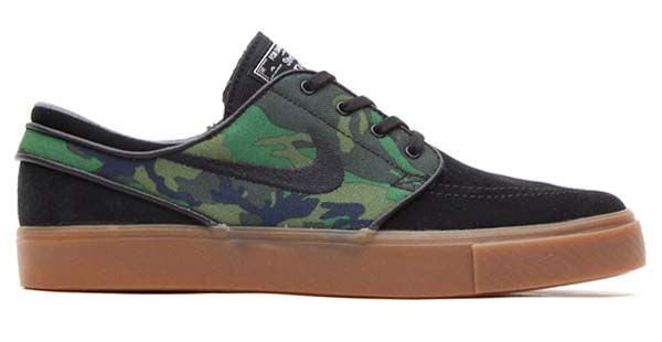 NIKE SB ZOOM STEFAN JANOSKI [BLACK/GREEN/BROWN] 633300-031