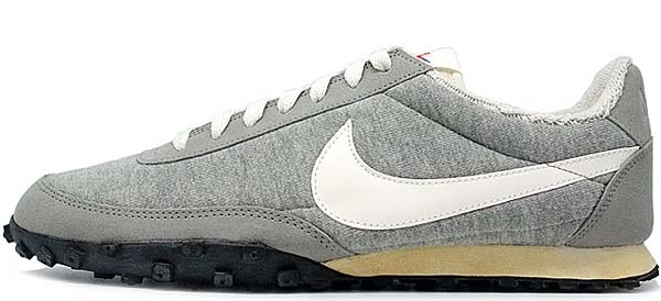 NIKE x LOOPWHEELER WAFFLE RACER PRM [MEDIUM GREY/SAIL-BLACK] 637988-010
