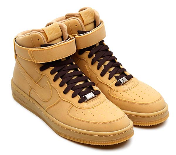 NIKE AIR FORCE 1 DOWNTOWN HIGH GUM QS [GUM/LIGHT BROWN] 638140-900