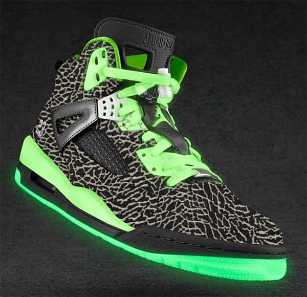 NIKEiD JORDAN SPIZIKE iD [GLOW IN THE DARK/ELEPHANT]