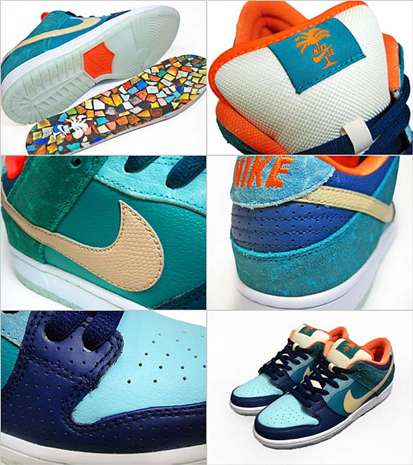 MIA X NIKE DUNK LOW PREMIUM SB [BRAVE BLUE×METALLIC GOLD] miaskateshop