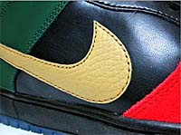 NIKE DUNK LOW PRO SB BHM [UNIVERSITY RED/METALLIC GOLD/GEORGE GREEN/BLACK] (304292-673)
