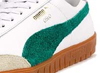 Puma OSLO [WHITE/GREEN/GUM] (354657 01)