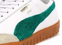 Puma OSLO [WHITE/GREEN/GUM] (354657 01)