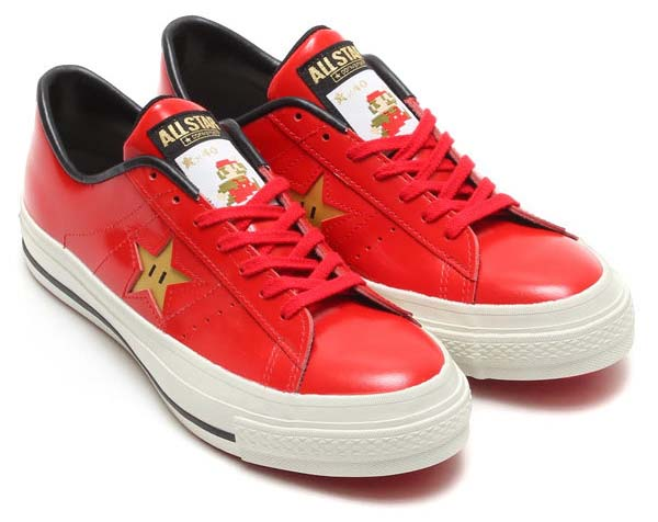 CONVERSE ONE STAR J SUPER MARIO BROS. [MARIO / RED] 32346732