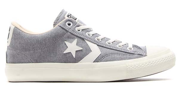 CONVERSE x X-LARGE CANVAS CHEVRONSTAR SWT OX [GRAY] 32760667