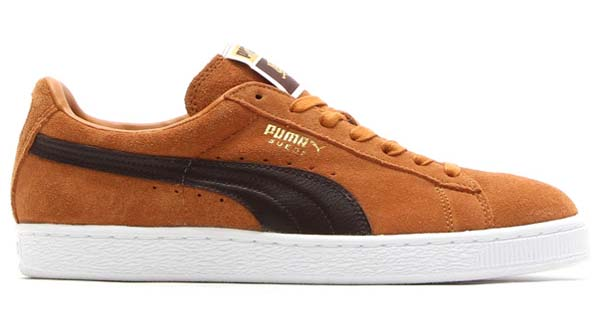 PUMA SUEDE CLASSIC CNY HORSE [SUDAN BROWN/CHOCOLATE BROWN/TEAM GOLD-WHITE] 357153 画像1