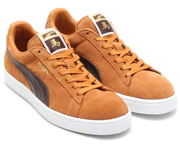 PUMA SUEDE CLASSIC CNY HORSE [SUDAN BROWN/CHOCOLATE BROWN/TEAM GOLD-WHITE]