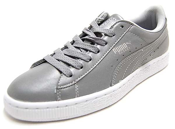 PUMA BASKET REFLECTIVE [SILVER METALLIC / BLACK] 358637-01
