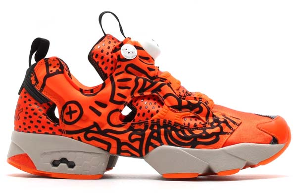Reebok x Keith Haring INSTA PUMP FURY [ORANGE / BLACK / WHITE] M40329