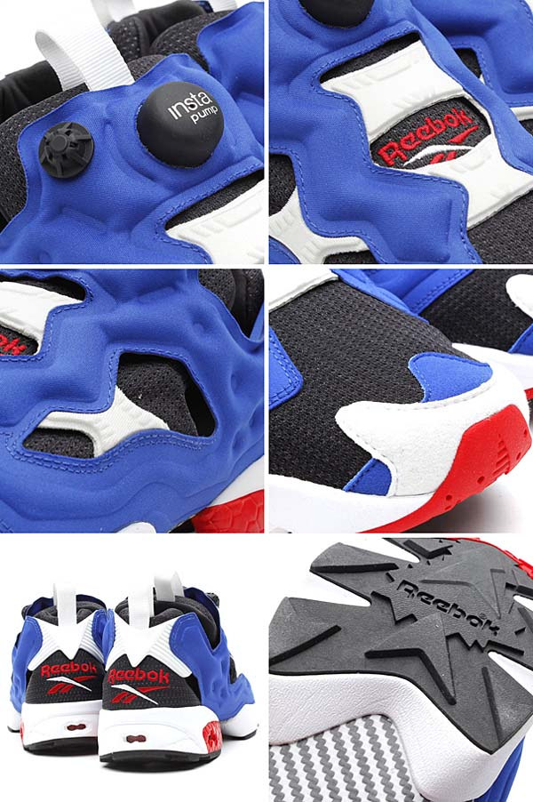 Reebok INSTA PUMP FURY OG TRICOLOR [BLACK / REEBOK ROYAL / WHITE / REEBOK RED] M40934