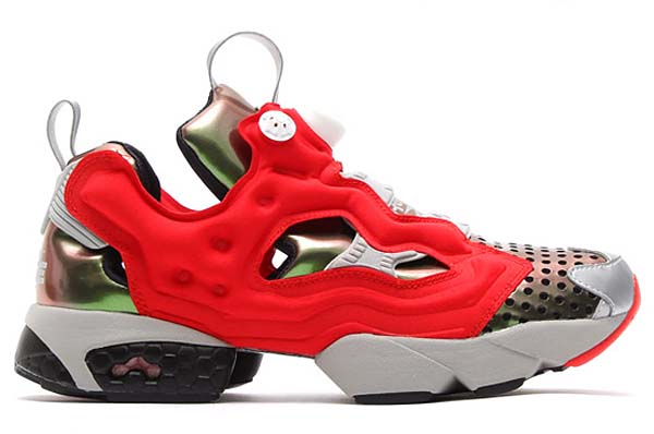 Reebok x MegaHouse INSTA PUMP FURY 「攻殻機動隊ARISE」 Ver.Logicoma [GHOST IN THE SHELL/INFINITE BLUE/FLASH RED] M41760
