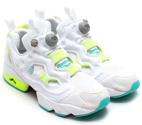 Reebok INSTA PUMP FURY [TIMELESS STEEL/WHITE/SOLAR YELLOW] M42233