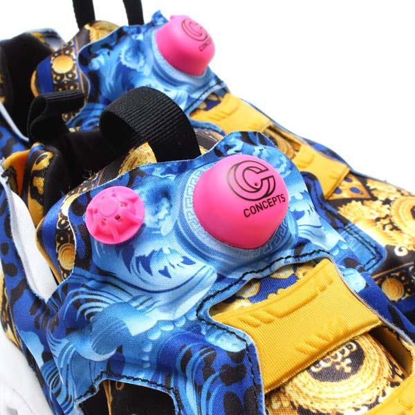 Reebok x CONCEPTS INSTA PUMP FURY OG [COLLEGIATE ROYAL / CALIFORNIA BLUE / BLACK / TROPHY GOLD / WHITE / PINK] M42930