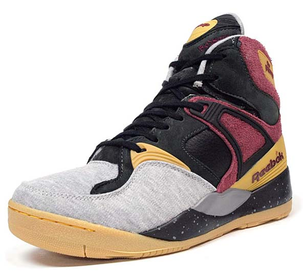 Reebok THE PUMP BODEGA [LIGHT GREY/BURGUNDY/GRAVEL] M44376