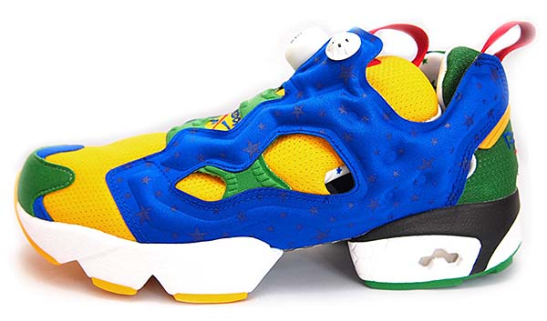 Reebok INSTA PUMP FURY 2014 BRAZIL WORLD CUP [RETRO YELLOW/REEBOK ROYAL/GLENN GREEN/WHITE] M44765