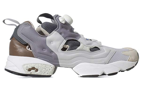 Reebok x The Garbstore INSTA PUMP FURY [SNOW GREY/FLAT GREY/WHITE/VISTA BLUE] V61151 写真1