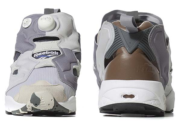 Reebok x The Garbstore INSTA PUMP FURY [SNOW GREY/FLAT GREY/WHITE/VISTA BLUE] V61151 写真2