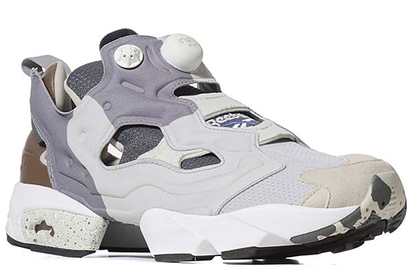 Reebok x The Garbstore INSTA PUMP FURY [SNOW GREY/FLAT GREY/WHITE/VISTA BLUE] V61151