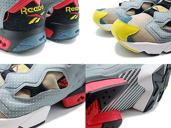 REEBOK x BODEGA INSTA PUMP FURY OG [FLAT GRY/CANVAS/BLK/CHINA RED/YELLOW] V61330
