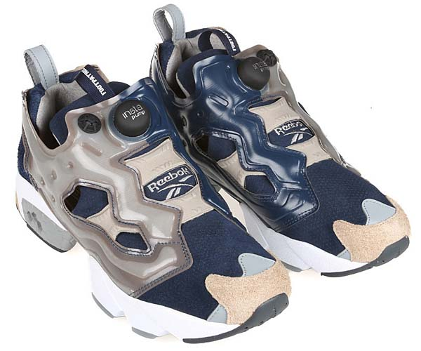 Reebok x FOOTPATROL INSTA PUMP FURY OG [NAVY / GREY / WHITE] V61538