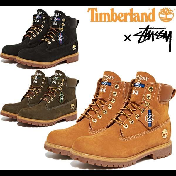 Timberland x STUSSY 6inch PREMIUM BOOT [WHEAT] 138283
