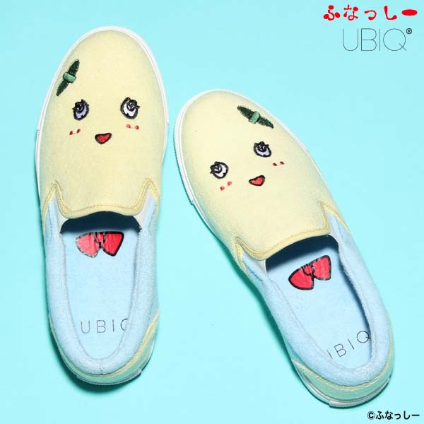 UBIQ ふなっしー SLIP ON [YELLOW/BLUE] fn-001