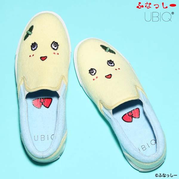 UBIQ ふなっしー SLIP ON [YELLOW/BLUE] fn-001