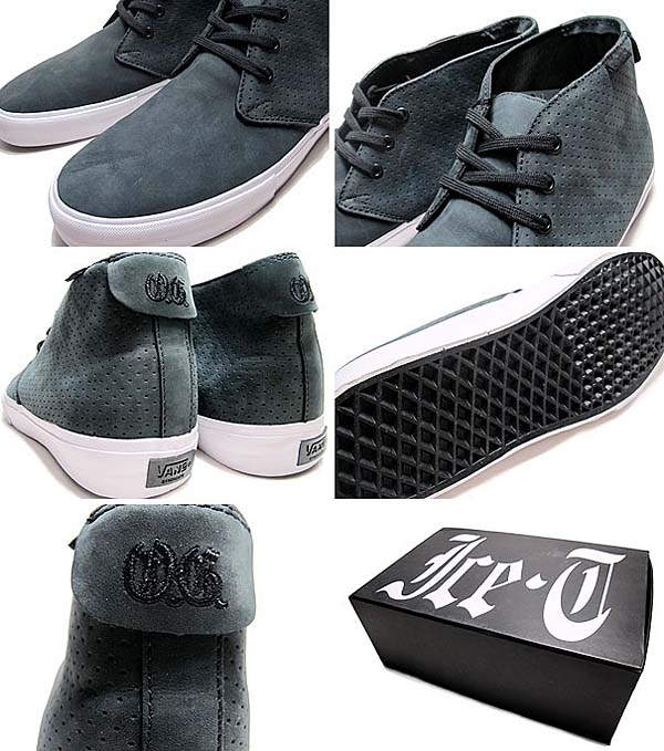 VANS SYNDICATE x ICE-T CHUKKA DECON S [BLACK] 0VIMAN5 写真2